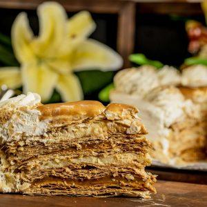 Torta Mil Hojas tres Sabores